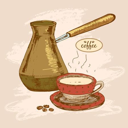 cafe colombiano: Café.