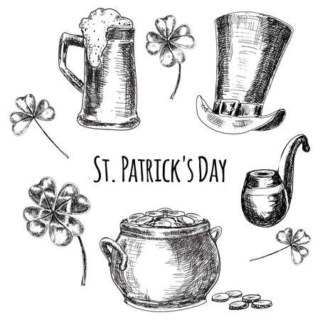 st patricks day: St. Patricks day  illustration Illustration