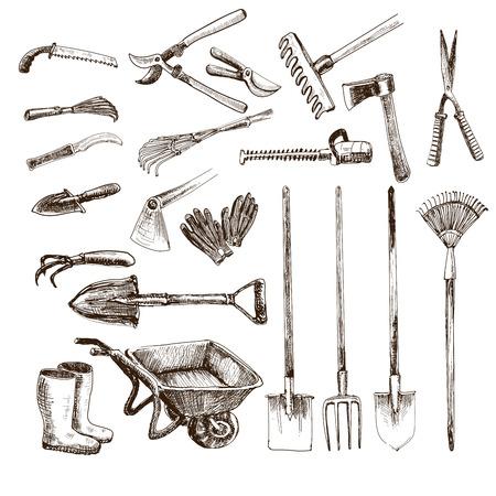 guantes: Herramientas del jardín