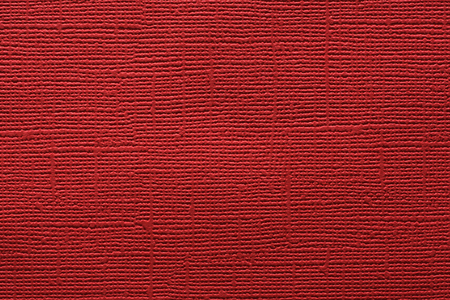 Red embossed paper texture background