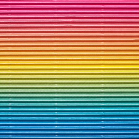 Striped colored cardboard or paper background texture