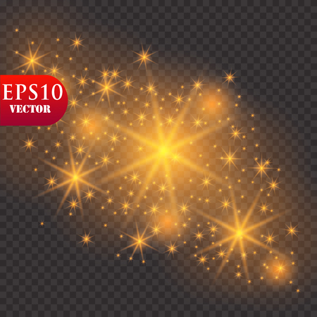 Glow light effect. Vector illustration. Christmas flash Concept.Eps10 Zdjęcie Seryjne - 114963561