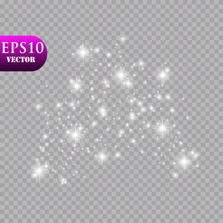 Glow light effect. Vector illustration. Christmas flash Concept.Eps10 Zdjęcie Seryjne - 114917022