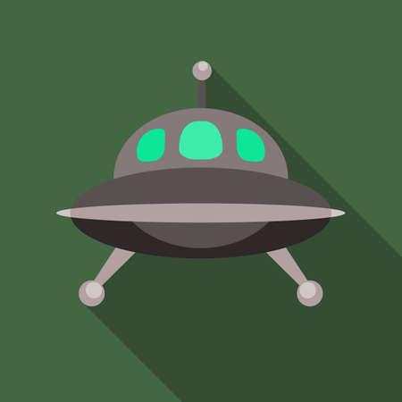 UFO spaceship icon.