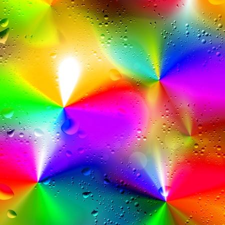 Illustration background. Droplets of rain. Line.
