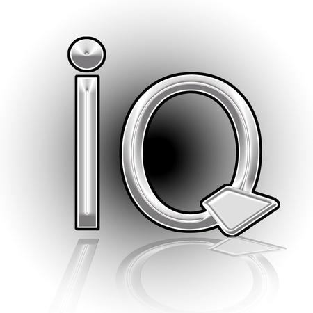 The intellectual level  IQ  Illustration  illustration