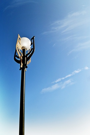 Lantern against the sky  photo
