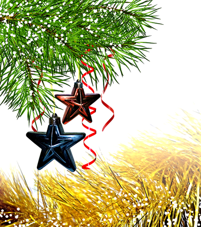 frippery: Christmas tree decorated with stars