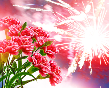 holiday card for the day of victory over fascism. Victory Day.