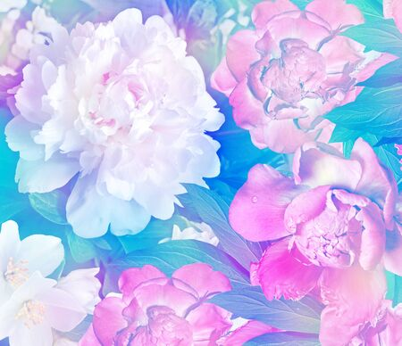 considerable: Floral background.