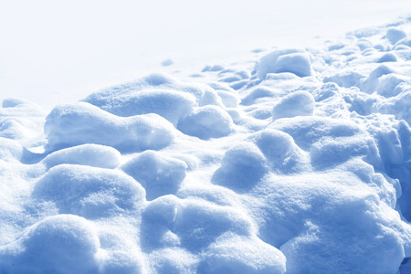 Background. Winter landscape. The texture of the snow Stock Photo