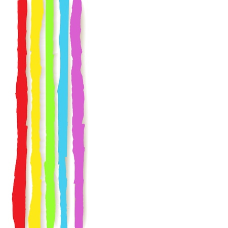 Rainbow Lines Background  illustration for your business work Stock Vector - 17294083
