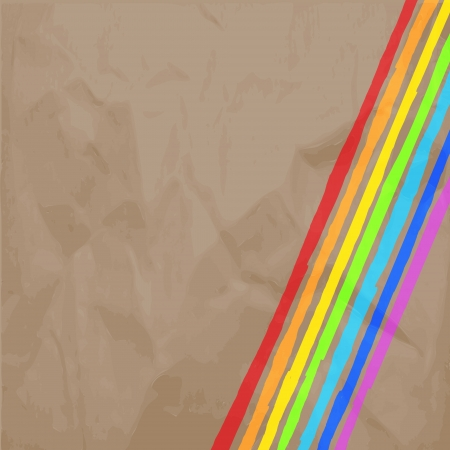 Rainbow Lines Background  illustration for your business work Stock Vector - 17294084