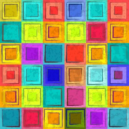 Grunge fundo colorido retro seamless