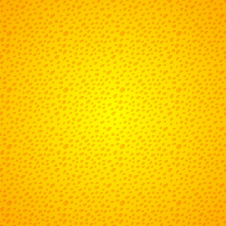 Yellow seamless background with grunge, vintage dots for your web design Vector