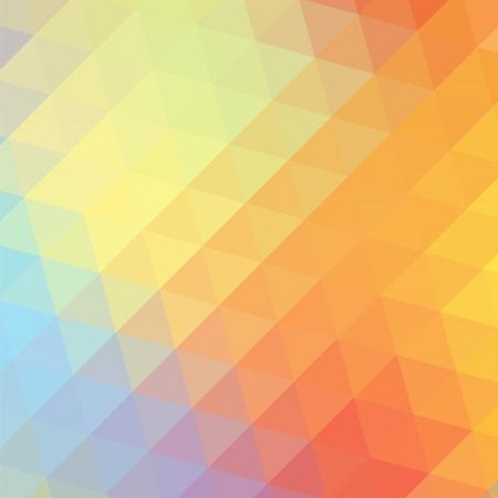 웹 디자인을위한 삼각형 다채로운 사랑 무지개 배경