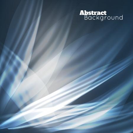Fundo moderno abstrato com ondas brilhantes. Vetor para sua apresenta��o de neg�cios Ilustra��o