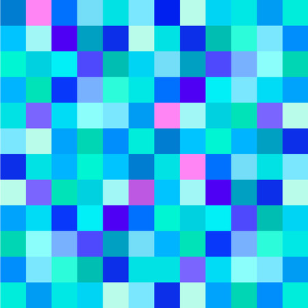 Colorful mosaic geometric background for your web design Vector