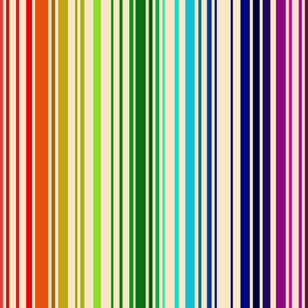 vertical bars: Rainbow colored seamless barcode background.