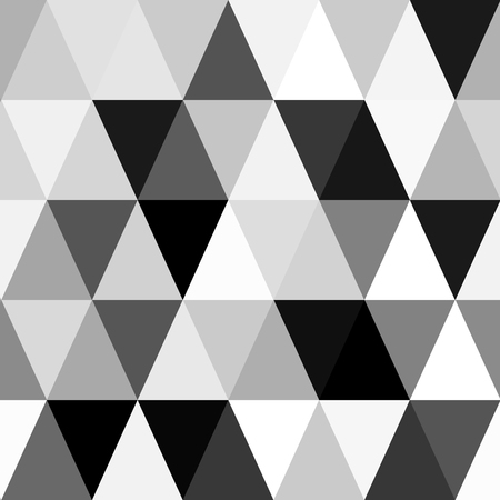 diamond background: black and white background abstract geometry pattern Illustration
