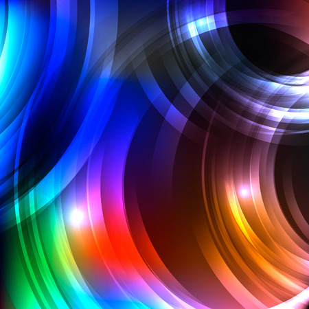 ball lightning: Disco nigth abstract geometric background for your web design