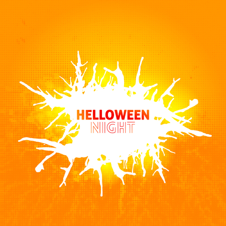 helloween: Helloween poster with splashes for your design