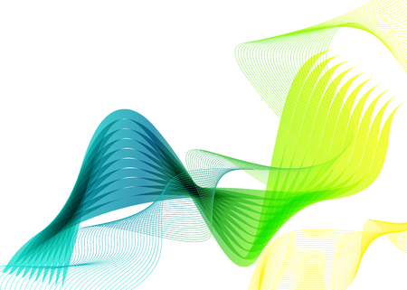 waved: Abstract  vector  wave  background. Colorful waved lines for  flyer, brochure, cover, website  design. Illustration