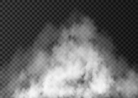 白い霧の効果。  イラスト・ベクター素材