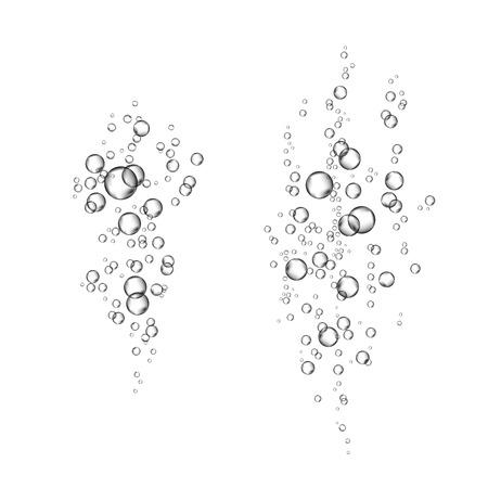 conception de texture de bulles