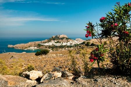 lindos: Mediterranean town Lindos