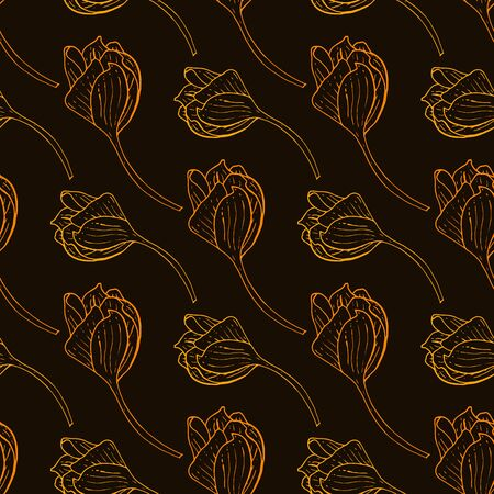 Endless texture for design. Decorative seamless pattern for greeting cards, decorating interiors, cosmetics and textile.