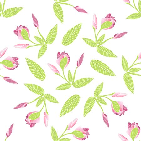 Endless texture with Frangipani for wedding design, fabric, packaging.