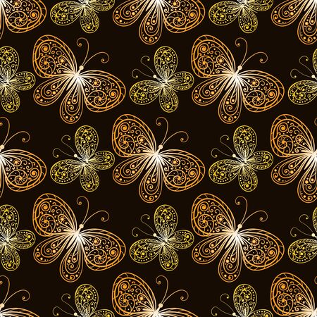 Endless texture for design. Decorative seamless pattern for decorating interiors, cosmetics and textile.