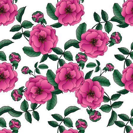Endlose Textur für das Design. Dekorativer nahtloser Hintergrund für Grußkarten, Interieur, Kosmetik und Textilien.