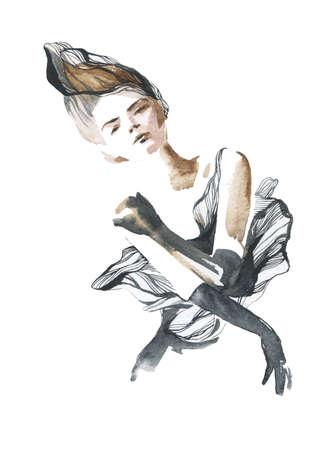 summer beauty: fashion girl