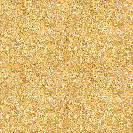 Gold glitter texture. Design element. Seamless pattern