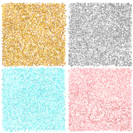 Pink, gold, blue and silver glitter texture background. Can be used for scrapbooking, blog background, card design, or any graphic projects.