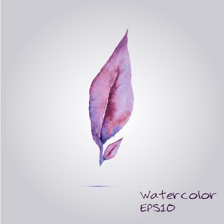 Vector leaf EPS10 Ilustracja
