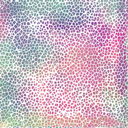 Vector kleurrijke gebroken tegel patroon voor uw ontwerp - website achtergrond, poster, banner