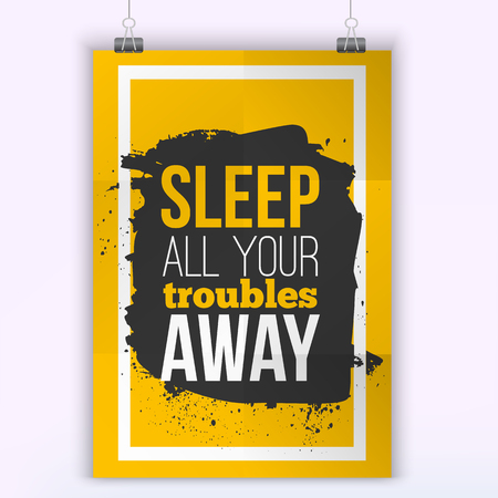 encouraging: Vector Problem Quote . Motivation Inspiration. Vector Typography Quote Banner Design Concept. Poster mock up.