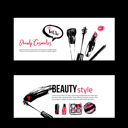 Banner Templates For Makeup Artist Studio Site Header Business