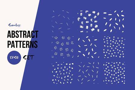 Contemporary simple pattern set on dark backdrop. Modern geometric design. Minimal modern cover design.