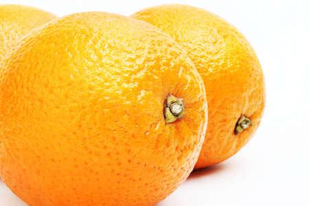 mandarin oranges: Orange  Orange fruit isolated on white Stock Photo