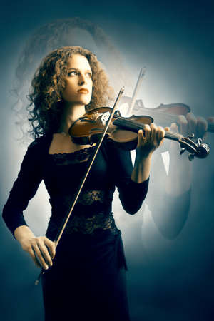 Musician Violin music violinist musician playing photo
