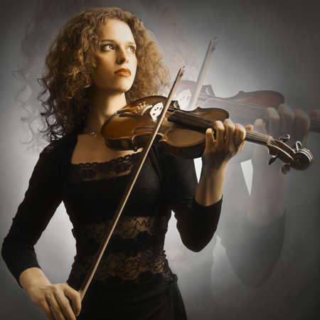 Violin playing violinist musician photo
