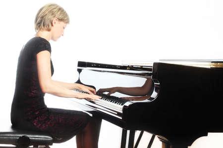 klavier: Klavierspieler Lizenzfreie Bilder