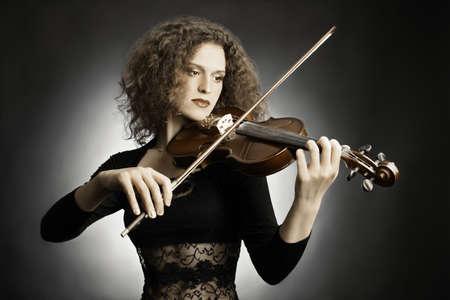 Violin player violinist classical musician photo