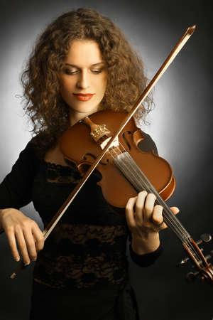 musica clasica: Viol�n jugador violinista m�sica cl�sica