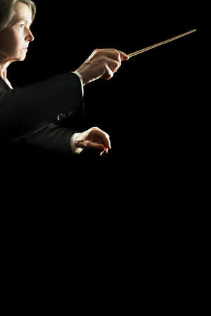 conducting: Orchestra conductor classical music conducting