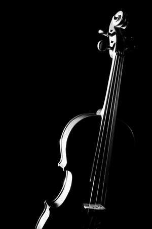 Viool orkest muziekinstrumenten Stockfoto